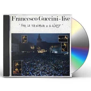 Francesco Guccini FRA LA VIA EMILIA IL WEST CD