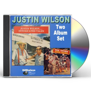 Justin Wilson INTOXICATED TALES / SPORT CD
