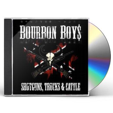 Bourbon Boys SHOTGUNS TRUCKS & CATTLE CD