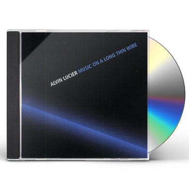 Alvin Lucier MOSIC ON A LONG THIN WIRE CD