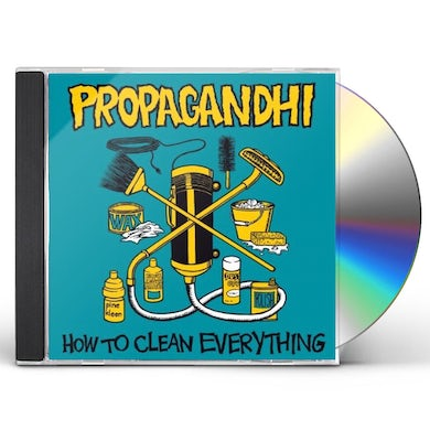 Propagandhi HOW TO CLEAN EVERYTHING CD