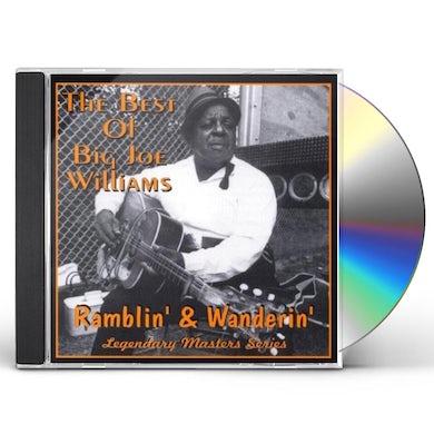 Big Joe Williams RAMBLIN & WANDERIN CD