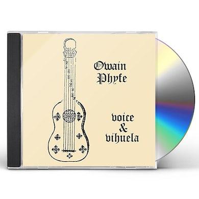 Owain Phyfe VOICE & VIHUELA CD