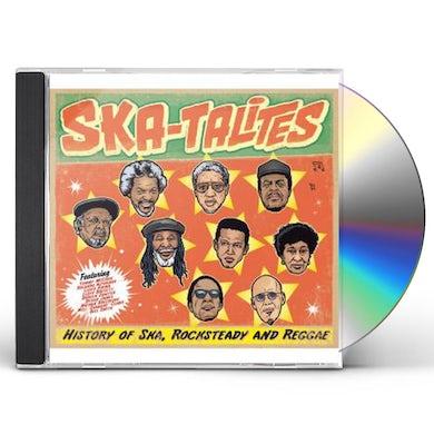 The Skatalites HISTORY OF SKA ROCKSTEADY & REGGAE CD