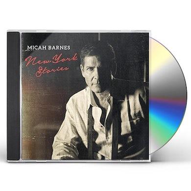 Micah Barnes NEW YORK STORIES CD