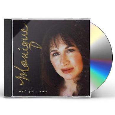 Monique Creber ALL FOR YOU CD