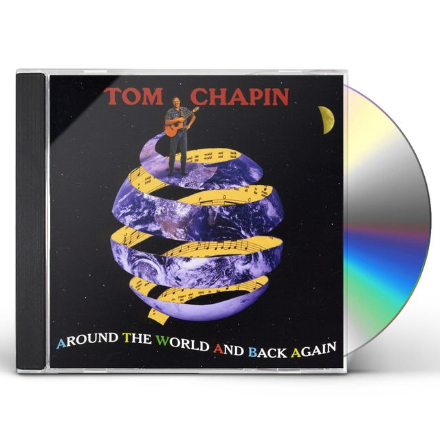 Tom Chapin AROUND THE WORLD & BACK AGAIN CD
