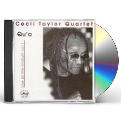 Cecil Taylor QU'A: LIVE AT THE IRIDIUM VOL 1 CD