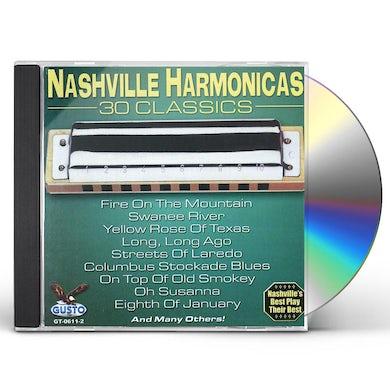 Nashville Harmonicas 30 CLASSICS CD