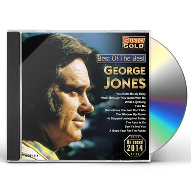 George Jones BEST OF THE BEST CD