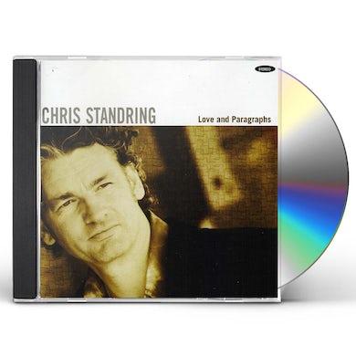 Chris Standring LOVE & PARAGRAPHS CD
