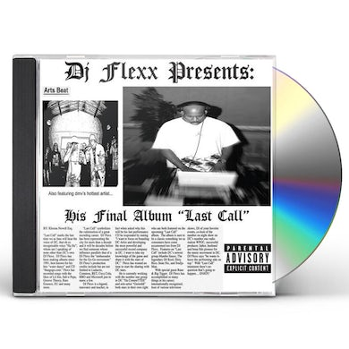 DJ Flexx LAST CALL CD