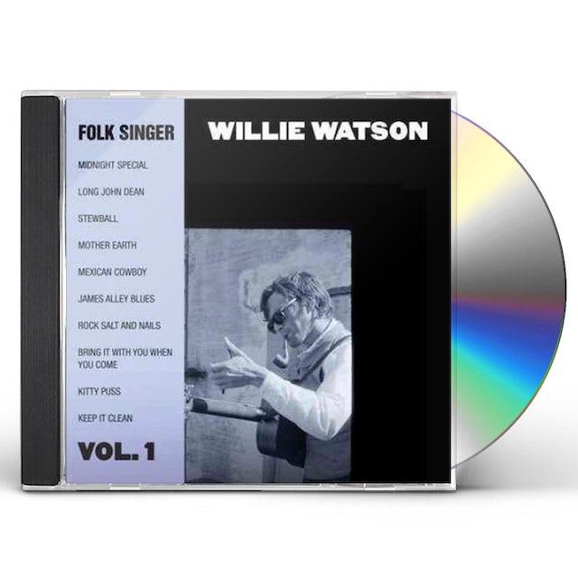 Willie Watson FOLK SINGER 1 CD