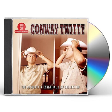 Conway Twitty ABSOLUTELY ESSENTIAL 3 CD COLLECTION CD