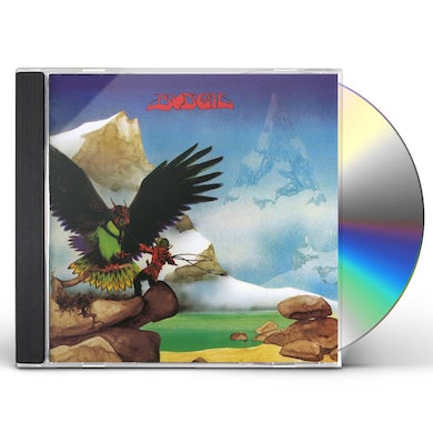 Budgie NEVER TURN YOUR BACK ON A FRIEND CD