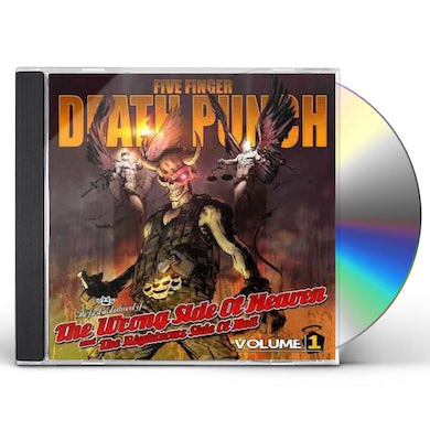 Five Finger Death Punch WRONG SIDE OF HEAVEN & RIGHTEOUS SIDE OF HELL 1 CD