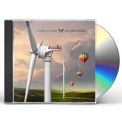 Flying Colors SECOND NATURE CD
