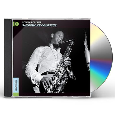 Sonny Rollins SAXOPHONE COLOSSUS + WORK TIME CD