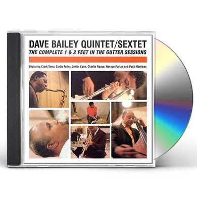 Dave Bailey COMPLETE 1 & 2 FEET IN THE GUTTER SESSIONS CD
