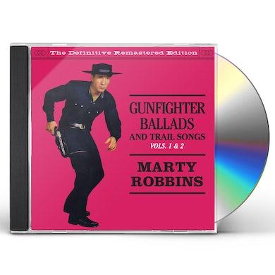 Marty Robbins GUNFIGHTER BALLADS & TRAIL SONGS 1 & 2 CD