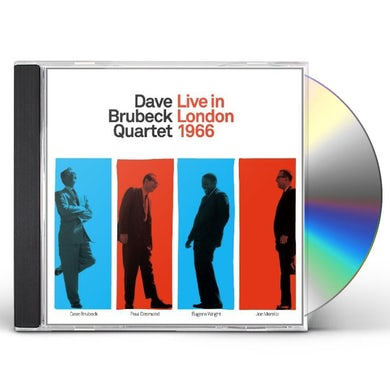 Dave Brubeck LIVE IN LONDON 1966 CD