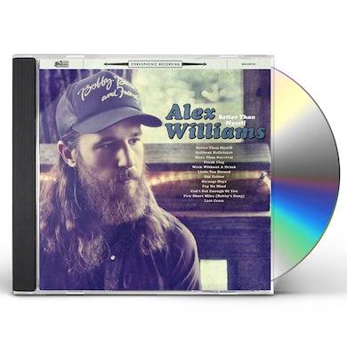 Alex Williams Better Than Myself CD
