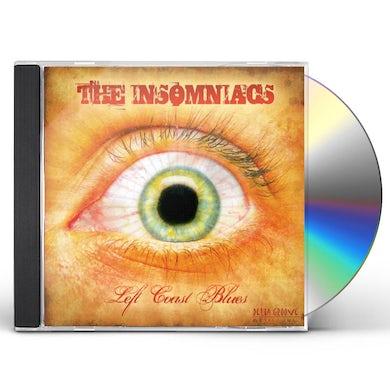 Insomniacs LEFT COAST BLUES CD