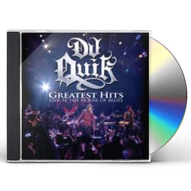 Dj Quik GREATEST HITS LIVE AT THE HOUSE OF BLUES CD