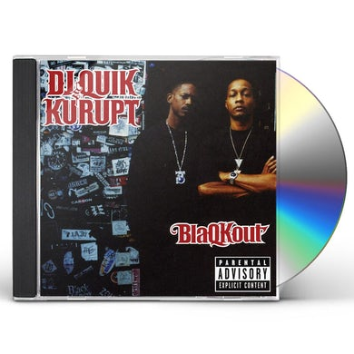 DJ Quik & Kurupt BLAQKOUT CD