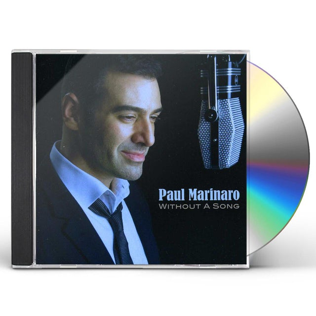 Paul Marinaro WITHOUT A SONG CD