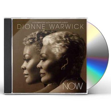 Dionne Warwick NOW ( A CELEBRATORY 50TH ANNIVERSARY ALBUM ) CD