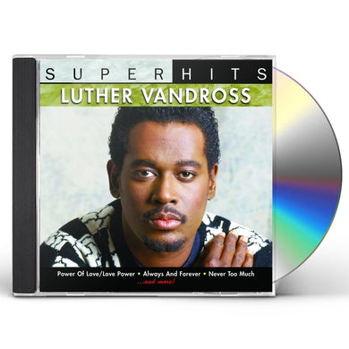 Luther Vandross SUPER HITS CD