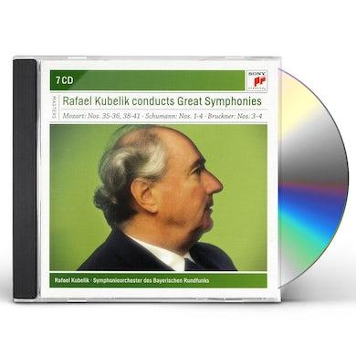 Rafael Kubelik GREAT SYMPHONIES CD