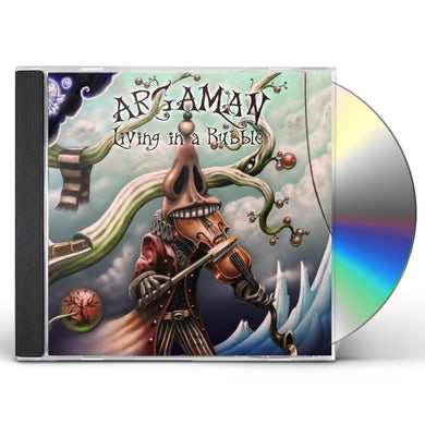 Argaman LIVING IN A BUBBLE CD
