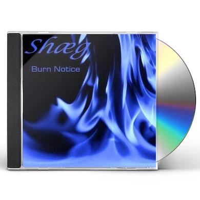 Shaeg BURN NOTICE CD