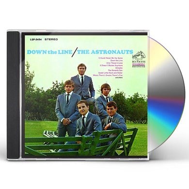 The Astronauts DOWN THE LINE CD