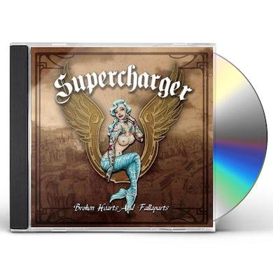 Supercharger BROKEN HEARTS & FALLAPARTS CD