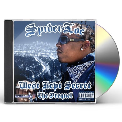 Spider Loc WEST KEPT SECRET: THE PREQUEL CD