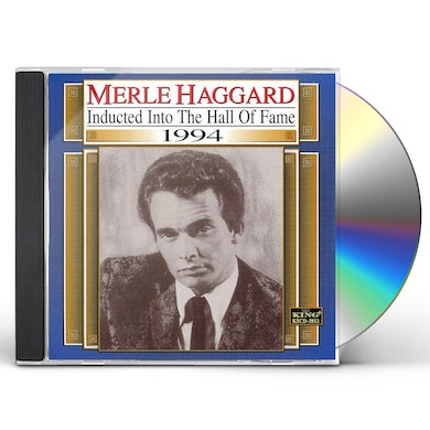 Merle Haggard COUNTRY MUSIC HALL OF FAME CD