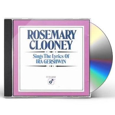 Rosemary Clooney SINGS IRA GERSHWIN CD