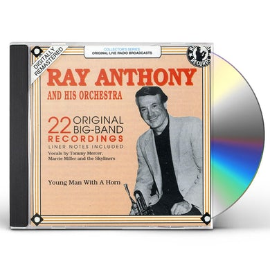 Ray Anthony YOUNG MAN WITH A HORN CD