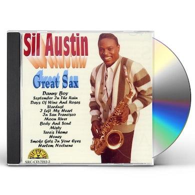 Sil Austin GREAT SAX CD