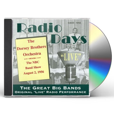 Dorsey Brothers NBC BAND STAND 8/2/58 CD