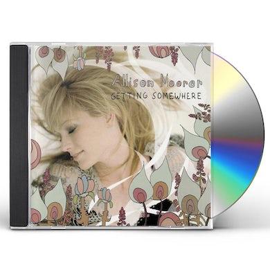 Allison Moorer GETTING SOMEWHERE CD
