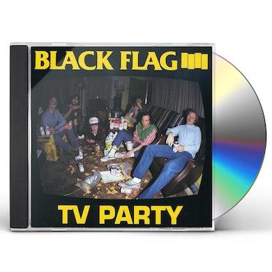 Black Flag TV PARTY CD