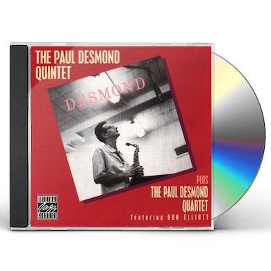 Paul Desmond QUINTET/QUARTET & VOICES CD