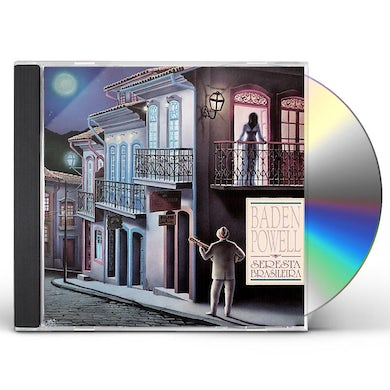 Baden Powell SERENATA BRASILERIA CD