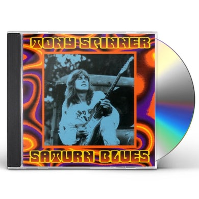 Tony Spinner SATURN BLUES CD