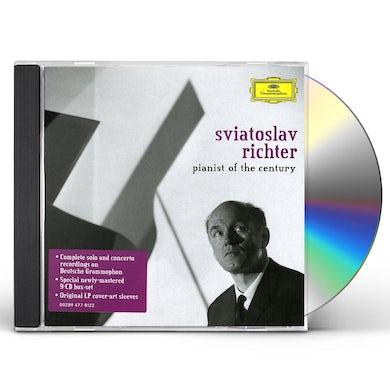Sviatoslav Richter PIANIST OF THE CENTURY CD