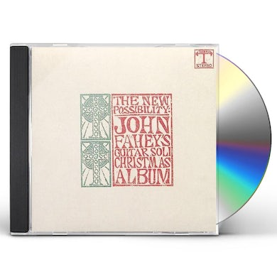 John Fahey NEW POSSIBILITY: GUITAR SOLI CHRISTMAS ALBUM CD